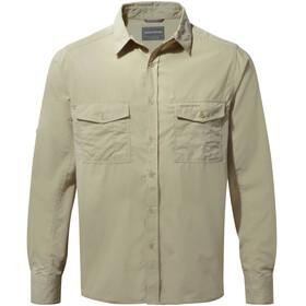 Craghoppers Kiwi - Camiseta de manga larga Hombre - beige 6671fd1612ad6
